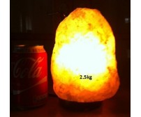 NATURAL HIMALAYAN SALT LAMP (2.5kg) APPROXIMATE WEIGHT.