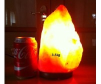 NATURAL HIMALAYAN SALT LAMP (3.5kg) APPROXIMATE WEIGHT.