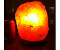 NATURAL HIMALAYAN SALT LAMP (5kg) APPROXIMATE WEIGHT.