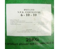 Potato Fertiliser ( NPK 6-10-10 )