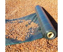 1m x 50m - Premium Woven Weed Control Fabric Plus 50 Anchor Pegs
