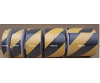 18m Roll Black / Yellow Anti Slip Tape - (Various Widths)