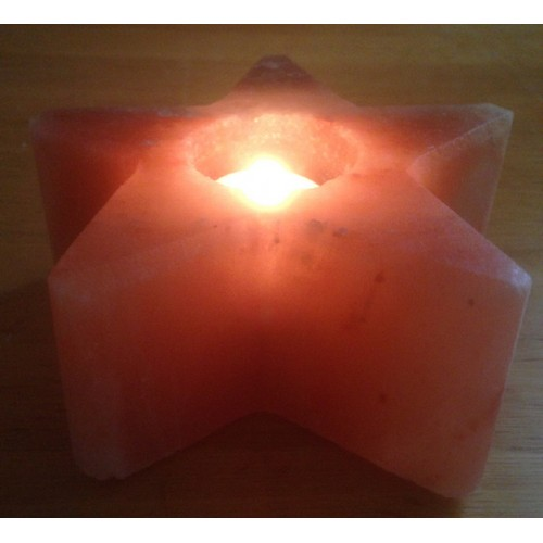 Hs Code For Salt Lamps : HIMALAYAN ROCK SALT CANDLE TEALIGHT HOLDER (STAR) DESIGN