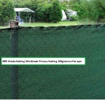 1m x 5m  98% Garden Shade / Windbreak Netting