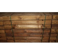 2.4m  x 100mm Square Timber Fence Gate Post