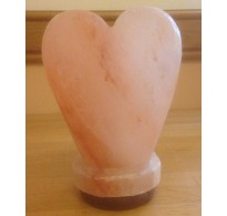 BIG HEART CRAFTED HIMALAYAN SALT LAMP (4.2kg) APPROXIMATE WEIGHT.