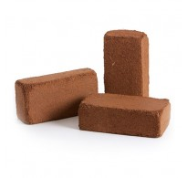 10 Litre - Coir Brick Coco Peat with Fertiliser - Various Quantities