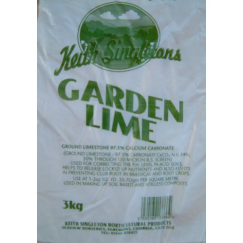 3kg Garden Lime Calcium Carbonate