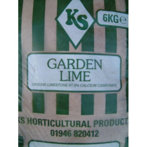 6kg Garden Lime Calcium Carbonate
