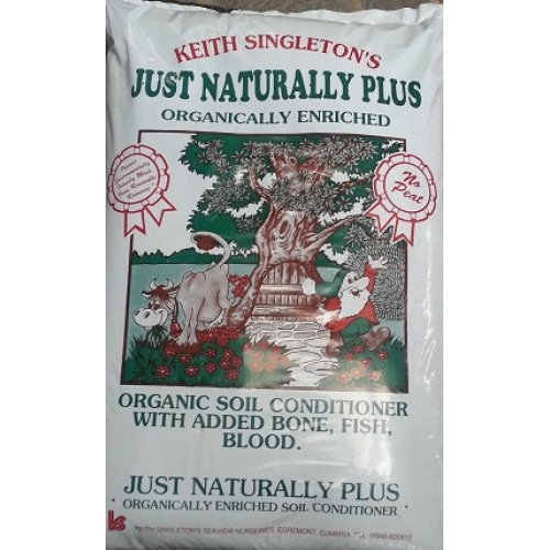 Just naturally plus organic soil conditioner pallet deals for Garden soil deals