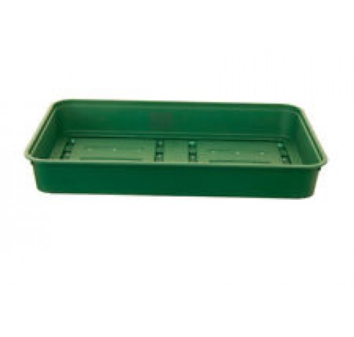 10 x 38cm - Green Strong Durable Seed Trays