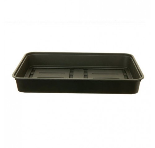 10 x 38cm - Black Strong Durable Gravel / Seed Trays