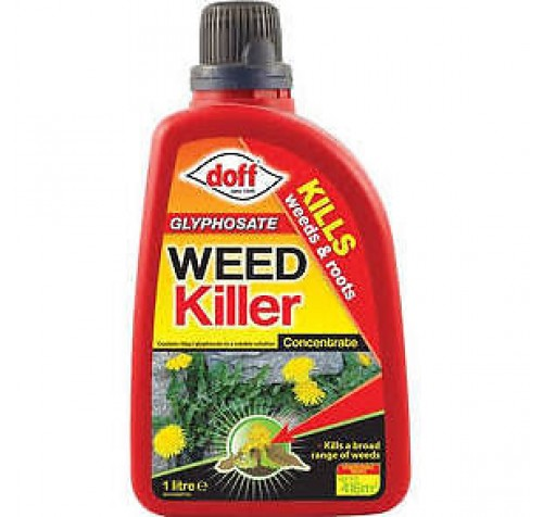 Doff Concentrated Glyphosphate Weedkiller