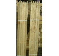 25 x 90cm (3ft) x 25mm Square & Pointed Tanalised Tree Posts / Stakes