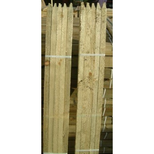 30 x 1.8m 6ft Square /& Pointed Wooden Pressure Treated Tree Stakes posts wood