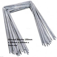 Galvanised Ground Cover Staples / Pegs