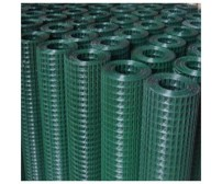 "0.9m x 10m  PVC Coated Welded Wire 1/2"" x 1/2"" Mesh  / 17 Gauge Wire"
