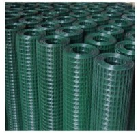 "1.2m x 6m  PVC Coated Welded Wire 1/2"" x 1/2"" Mesh  / 17 Gauge Wire"